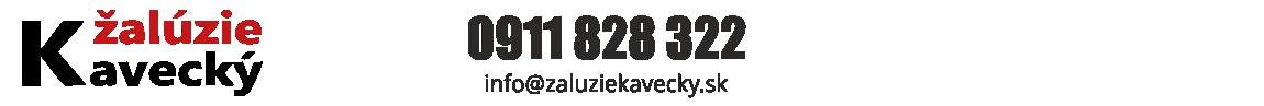 Žalúzie Kavecký